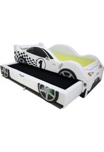 Bicama Xr4 Cama Carro Do Brasil Branca - Branco - Menino - Dafiti