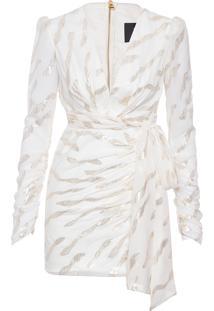 Vestido Curto Anita - Off White
