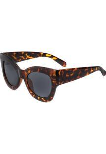 Óculos Rayflector 265Co - Feminino-Amarelo+Preto