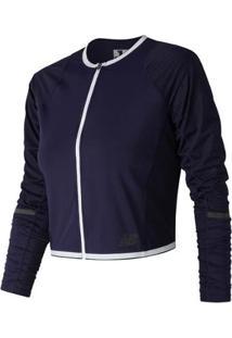 Jaqueta New Balance Speed Crop Jacket Feminina - Feminino