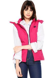 Colete Pelo Rosa feminino  0d2d130a5a335