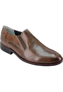 b39ea8915 Sapato Marrom Pratico masculino | Moda Sem Censura