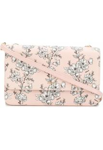 Furla Bolsa Tiracolo Riva Com Estampa Floral - Rosa
