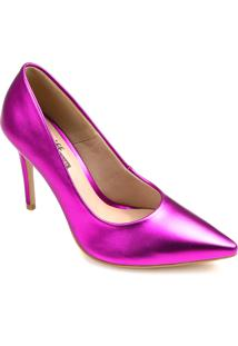Sapato Scarpin Zariff Metalizado