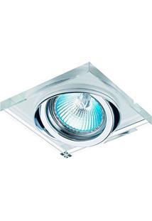 Spot Embutido, Bella Iluminação, Shineyd134, Cromado/Transparente