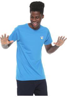 Camiseta Tectoy Sonic The Hedgehog Classic Face Azul
