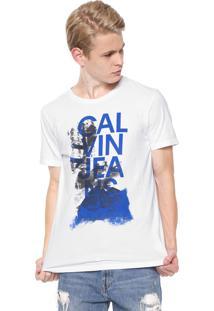 Camiseta Calvin Klein Jeans Industry Branca