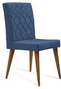 Cadeira Julia T1091-Daf Mobiliário - Azul Marinho