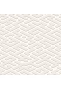 Papel De Parede Labirinto Cinza (1000X52)