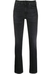 Dondup Calça Jeans Slim - Preto