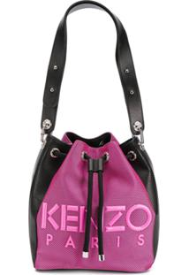Kenzo Bolsa Bucket Kombo - Rosa