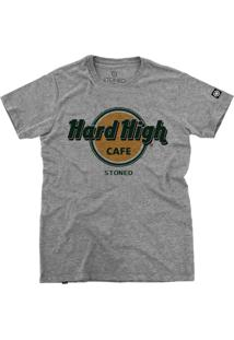 Camiseta Stoned Hard High Cafe Cinza