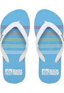 Chinelo Reef Switchfoot Tri Stripes Azul