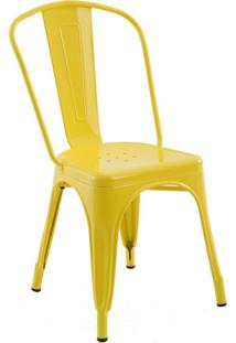 Cadeira Iron Amarela