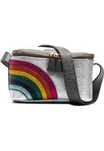Anya Hindmarch Necessaire 'Rainbow' - Cinza