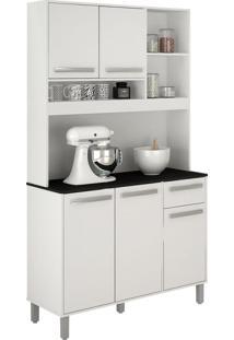 Cozinha Compacta Ametista 5 Pt 1 Gv Branca