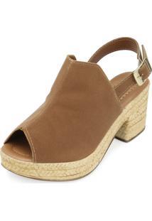 Sandália Ankle Boot Yellow Yl18-1930 Castor