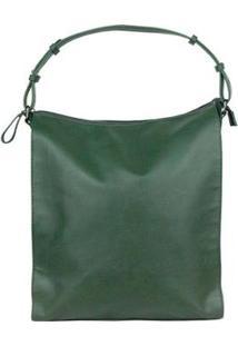 Bolsa Em Material Sintético - Kf2H1Bsi1 Hering Feminina - Feminino-Verde