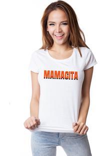 Camiseta Skull Lab Mamacita Branca - Branco - Feminino - Algodã£O - Dafiti