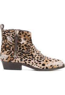 Golden Goose Bota Viand Animal Print - Neutro