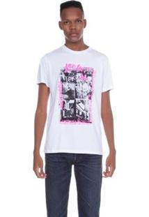 Camiseta Levis Photo - Masculino-Branco