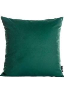 Capa De Almofada Texturizada - Verde - 42X42Cm -Stm Home