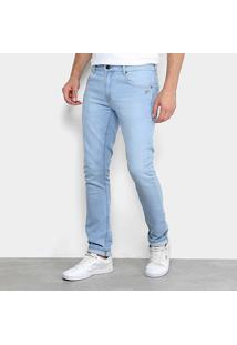 Calça Jeans Quiksilver Artor Delave Masculina - Masculino