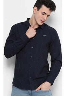 Camisa Colcci Ml Slim Fit Botonê 310102753-310102753 - Masculino
