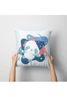 Capa De Almofada Avulsa Panda Sleep 35X35Cm - Kanui
