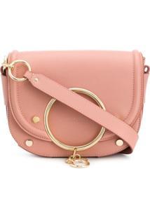 See By Chloé Mara Leather Crossbody Bag - Rosa