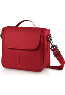 Bolsa Térmica Cooler Bag Vermelho Bb029 - Multikids Baby