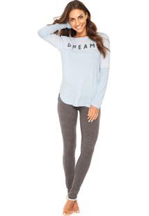 Pijama Any Any Dreams Azul