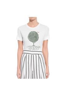 Camiseta Forseti Confort Digital Branca