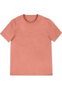 Camiseta Hering Básica Slim Masculina - Masculino-Rosa Claro