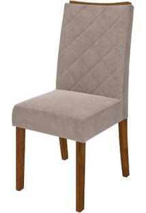 Cadeira Golden 2 Peças - Pena Bege - Rústico Malbec