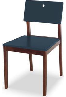 Cadeira Flip Cor Cacau Com Marinho - 30836 - Sun House