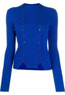 Jacquemus Cardigan La Maille Azur - Azul