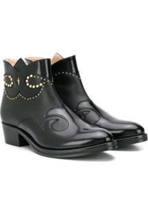 Cesare Paciotti Kids Ankle Boot - Preto