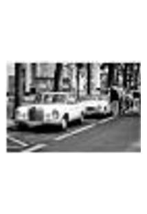 Painel Adesivo De Parede - Carros Antigos - 006Pn-M