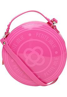 Bolsa Petite Jolie Round Feminina - Feminino-Pink