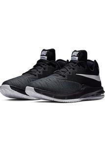 Tênis Nike Air Max Infuriate Iii Low Masculino - Masculino-Preto+Cinza