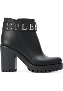 Philipp Plein Ankle Boot 'Calla' - Preto