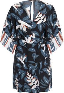 Vestido Curto Nassau - Azul