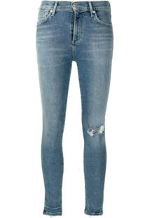 Citizens Of Humanity Calça Jeans Skinny Cropped - Azul