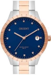Relógio Orient Ftss1116 D1Sr Feminino - Feminino-Prata