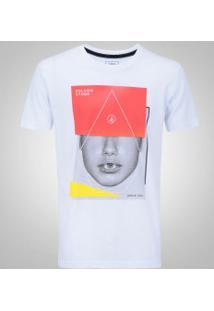 ... Camiseta Volcom Silk Long Fit Doors - Masculina - Branco 293ff2200c5bc