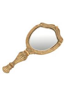 Espelho De Mão Eloise 10 Cm X 22 Cm - Home Style