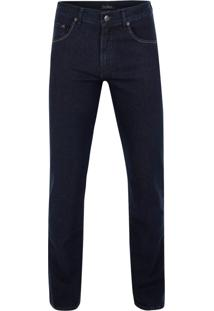 Calça Jeans Azul Marinho Stone Washed