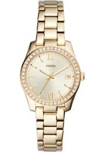 f25549b935b24 ... Relógio Fossil Feminino Ladies Scarlette - Es4374 1Dn Es4374 1Dn -  Feminino-Dourado