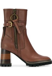 See By Chloé Ankle Boot Bryn - Marrom